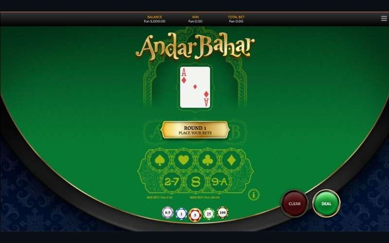 andar bahar winning tricks