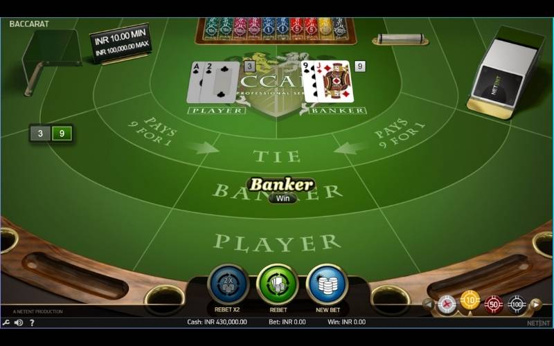 guide to playing online baccarat