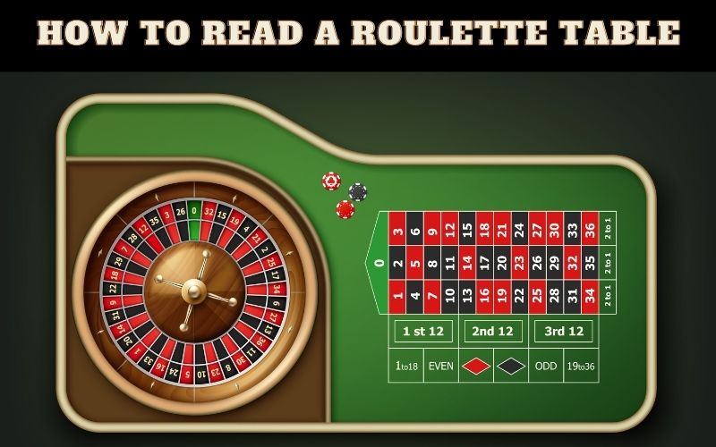How to Read a Roulette Table