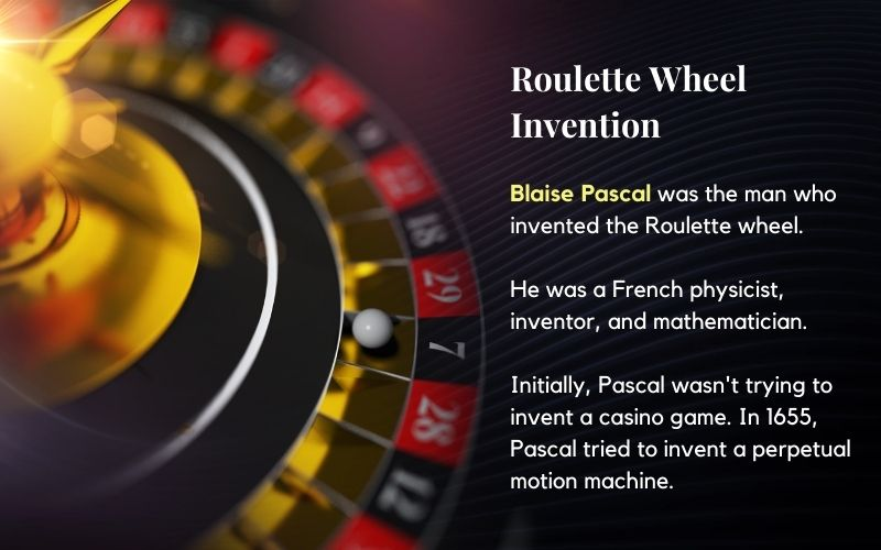 who invented the roulette wheel